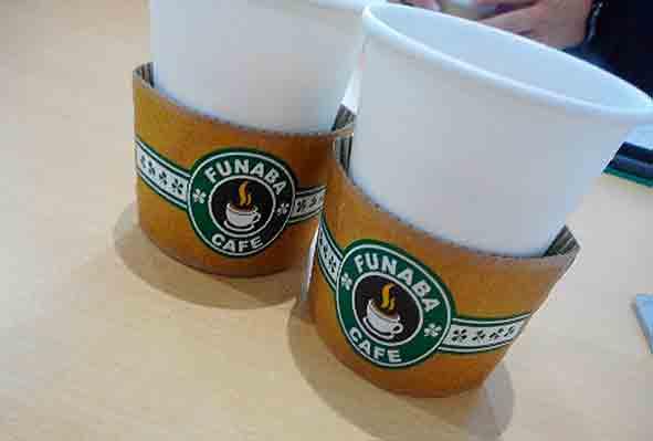 おしゃれな感じで、おいしいココア@FUNABA CAFE